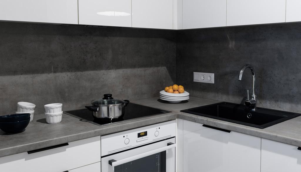 Stūra virtuves iekārta | Albero Mēbeles