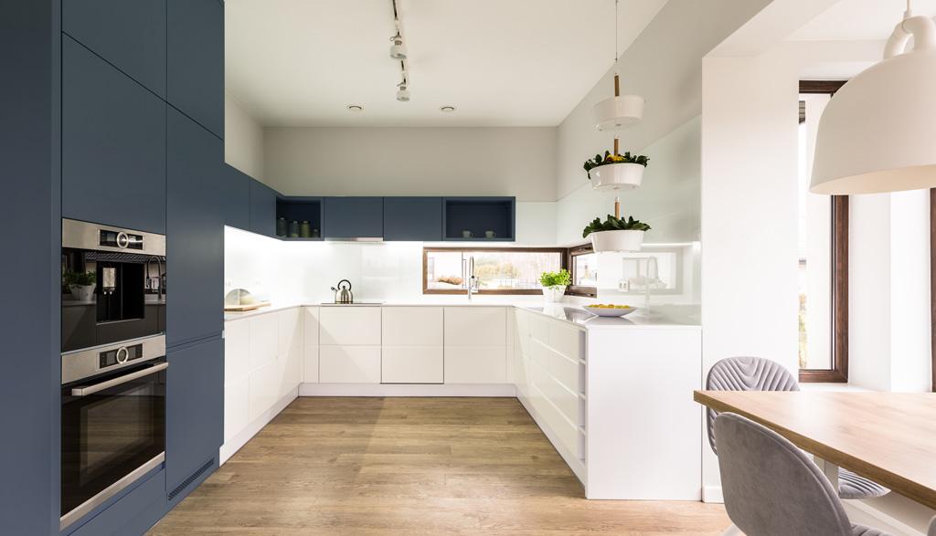 Moderna skandināvu stila virtuves iekārta | Albero Mēbeles