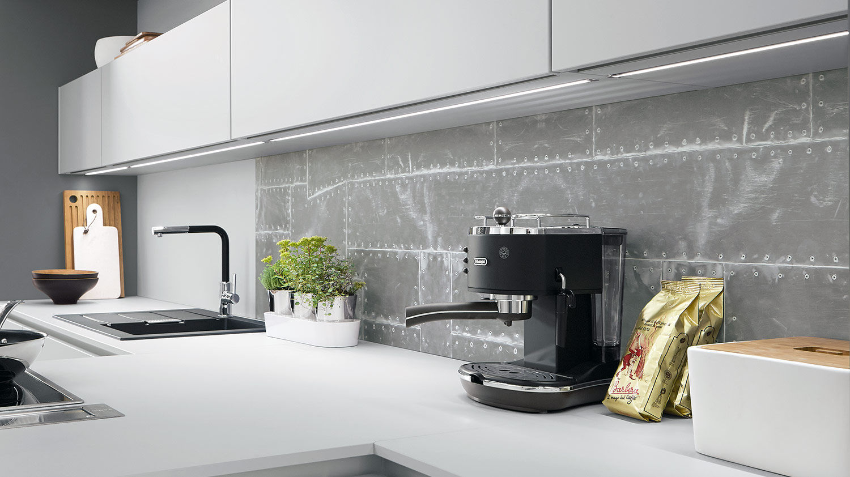 Apgaismojums iebūvējamā virtuvē | Albero Virtuves