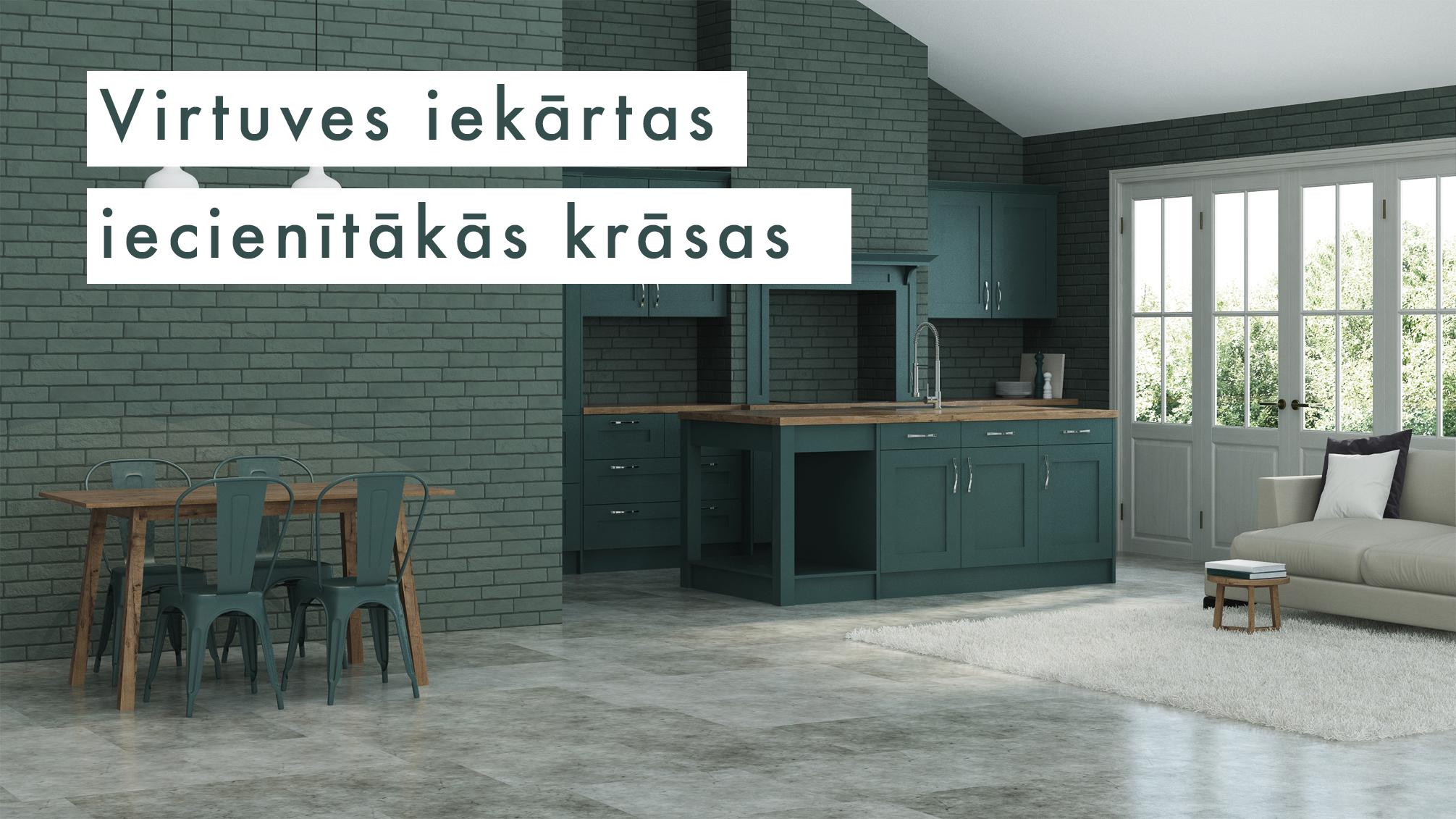Virtuves iekārtas iecienītākās krāsas | Albero Mēbeles | Blogs