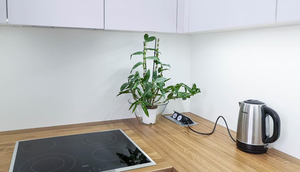 Albero Mēbeles | Akrila virtuves iekārta