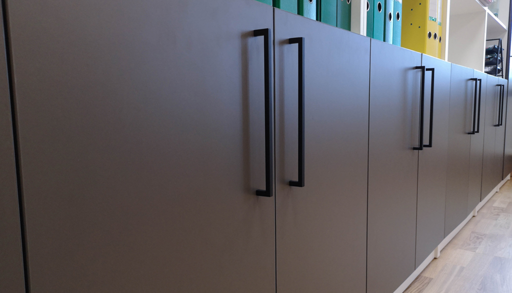 Biroja mēbeles pašvaldības ēkā | Albero Mēbeles
