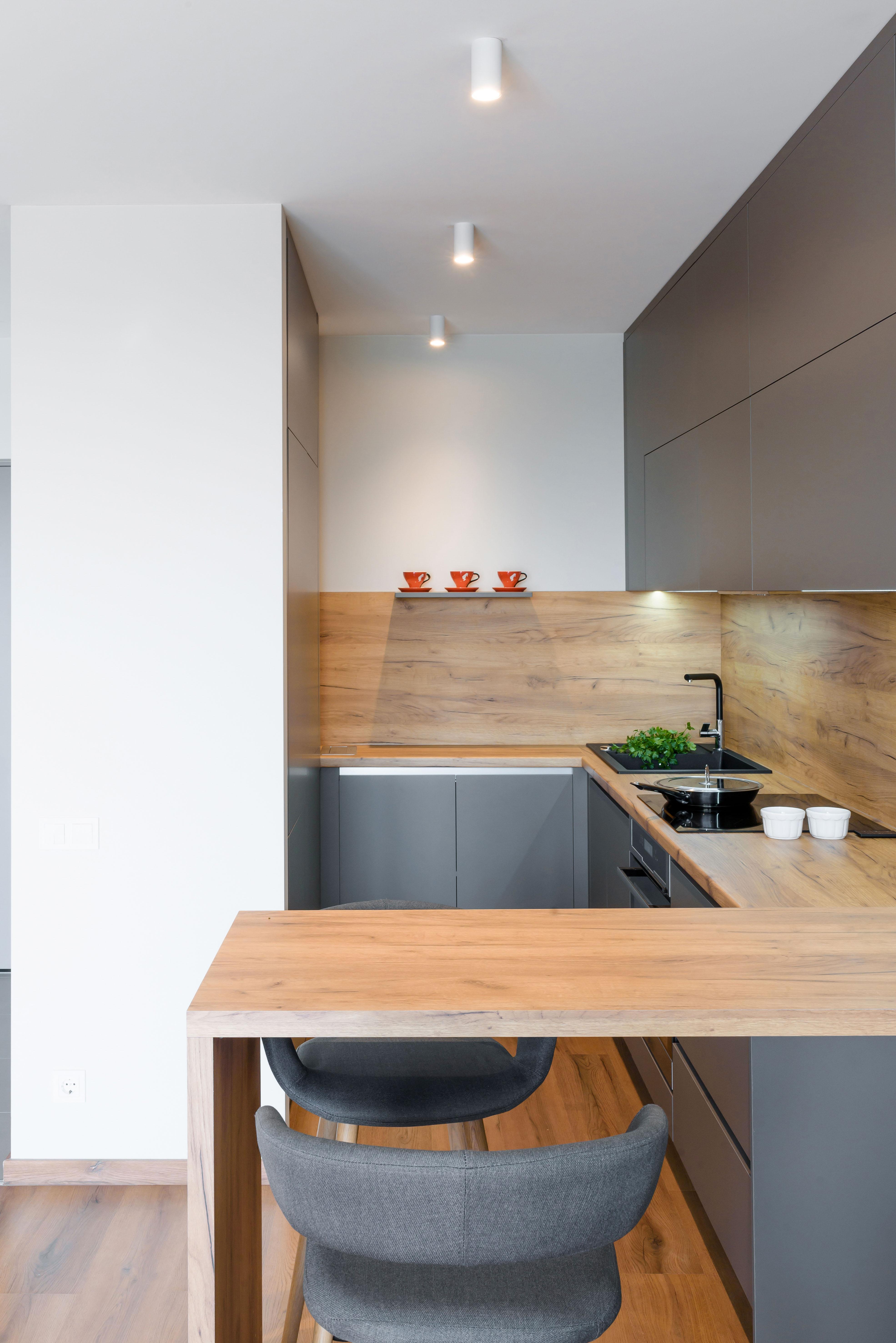 Skandināvu stils virtuves iekārtā | Albero Mēbeles