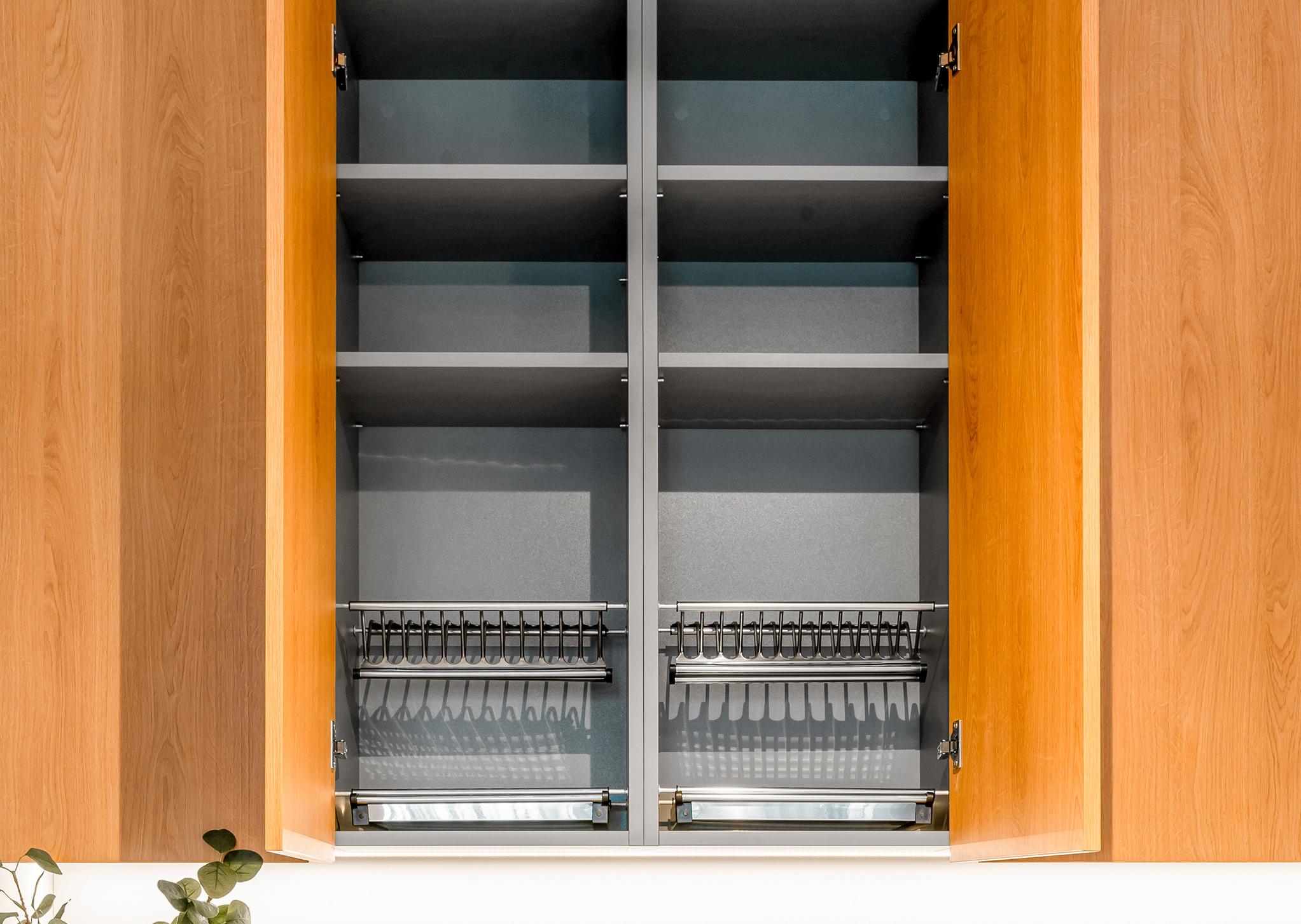 Moderns virtuves sienas skapītis - Alberomebeles.lv